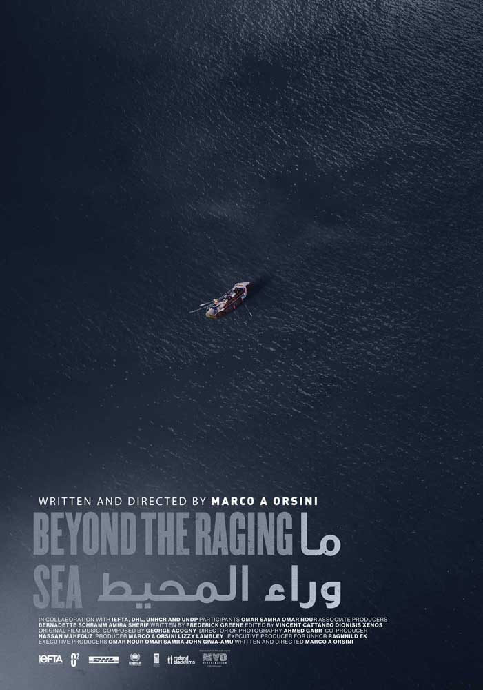 Poster of Beyond The Raging Sea