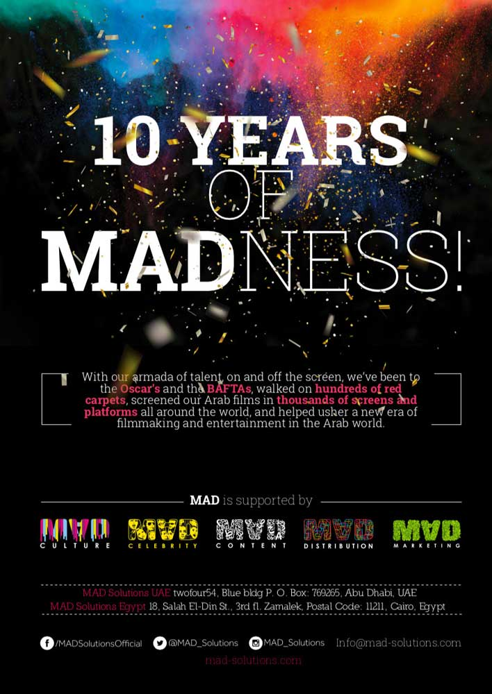 MAD 10 years Ad